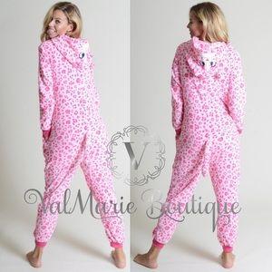 ValMarie Intimates & Sleepwear - Spotted Cat Fleece Onesie